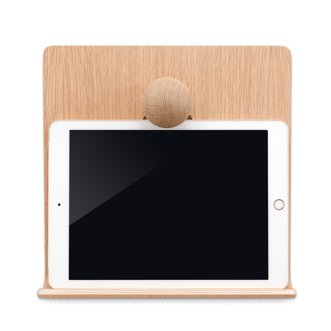 iPad Hanger in Oak