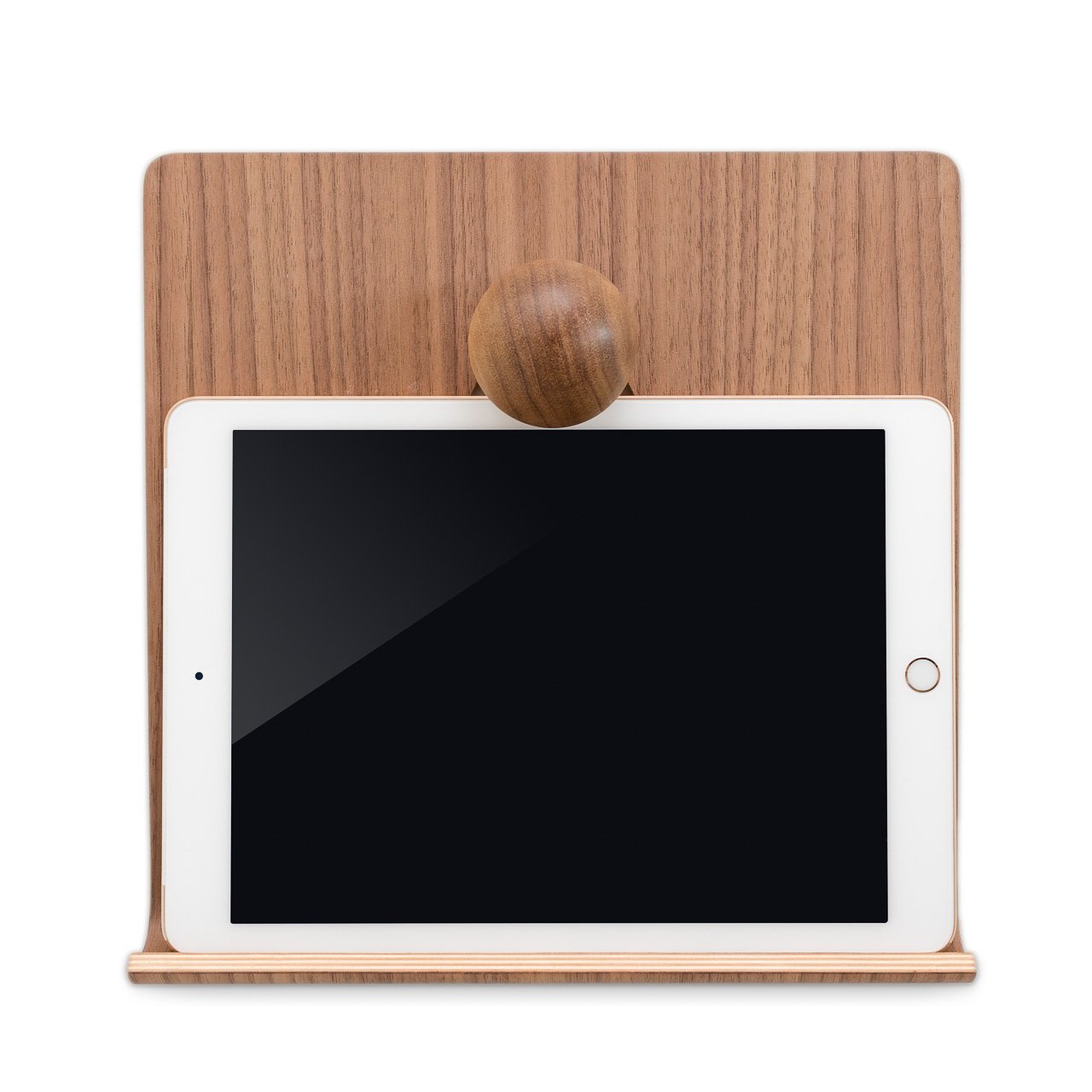 iPad Hanger in Walnut