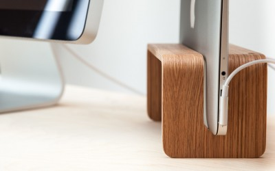 A Vertical MacBook Stand